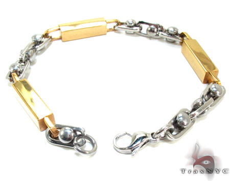 Mens Stainless Steel Bracelet 22085 Stainless Steel