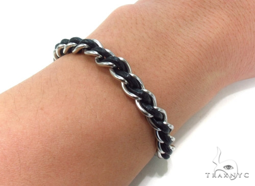 Mens Stainless Steel Bracelet 35372 Stainless Steel
