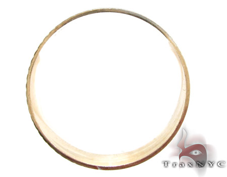 Two Tone Crescent Moon Band Style