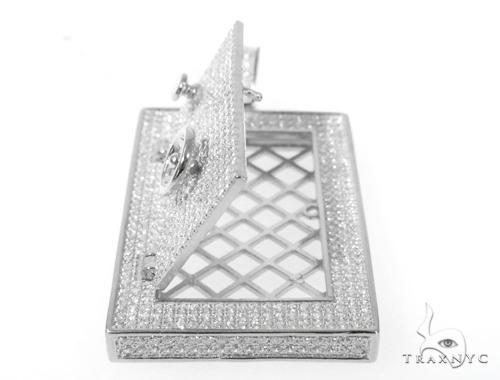 Silver Safe Pendant 48948 Metal