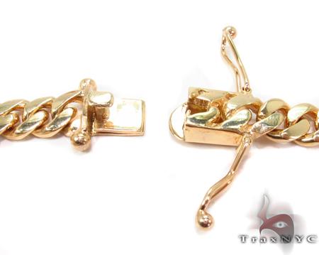 Miami Cuban Curb Link Chain 26 Inches 7mm 104 Grams Gold