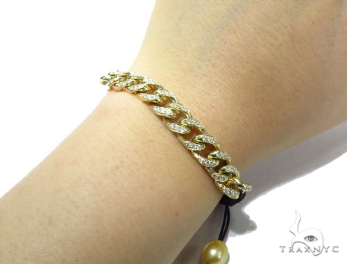 Miami Cuban Diamond Rope Bracelet 41216 Diamond
