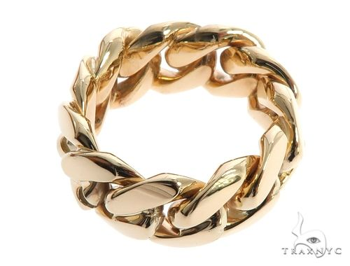 Miami Cuban Link Ring 10mm 64135 Metal