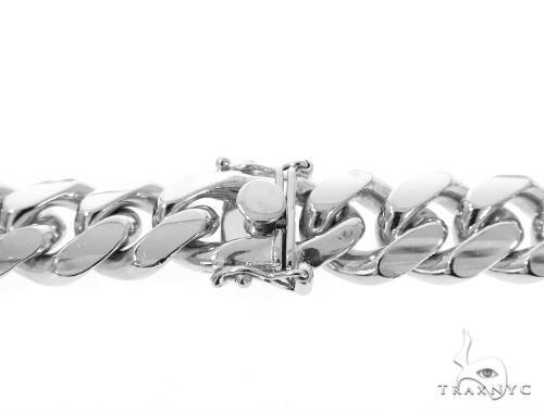 Miami Cuban Silver Chain 30 Inches 13mm 292.6 Grams 49192 Silver