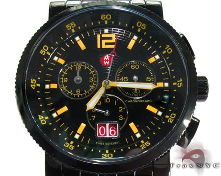 Michele Sport Sail Large Techno Yellow Watch MWW01K000034 Michele Diamond Watches