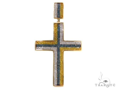 Micro-Pave Diamond Cross 39485 Diamond