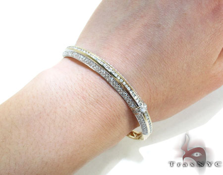 Mini Bangle Bracelet Diamond