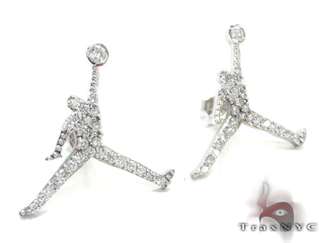Mini Jordan Earrings Stone