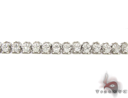 Mini Polar Iced Diamond Chain 30 Inches 3mm Diamond
