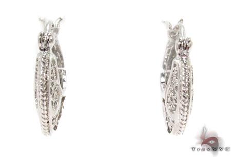 Moon Silver Earrings 31434 Metal