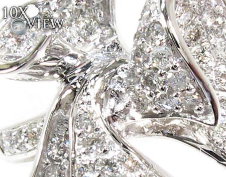 Morning Glory Diamond Ring Anniversary/Fashion