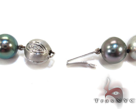 Multi-Color Tahitian Pearl Necklace Pearl