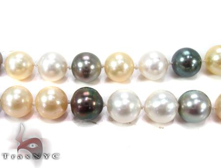 Multi-color Pearl Ladies Necklace 27353 Pearl