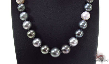 Multy-Color Pearl Necklace 31726 Pearl
