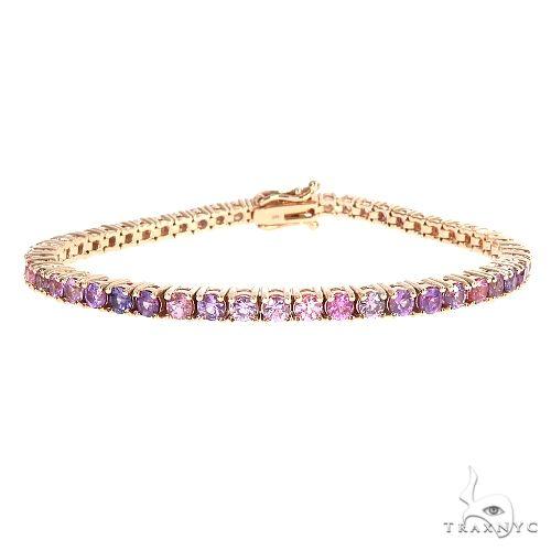 Mystic Sapphire Tennis Bracelet 67149 Multicolor SAPPHIRE