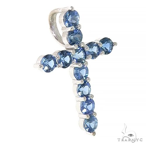 Ocean Blue Sapphire Cross 66978 Multicolor SAPPHIRE