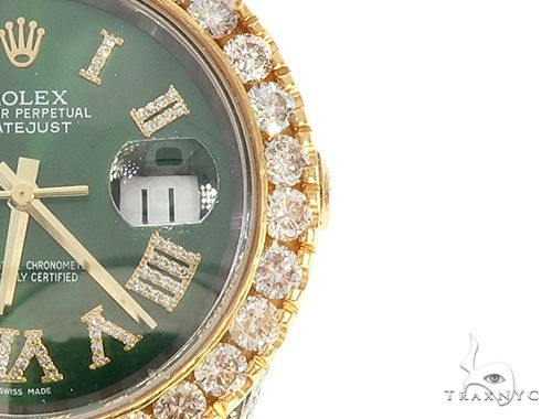Oyster Perpetual DATEJUST Diamond Rolex Watch 65472 Diamond Rolex Watch Collection