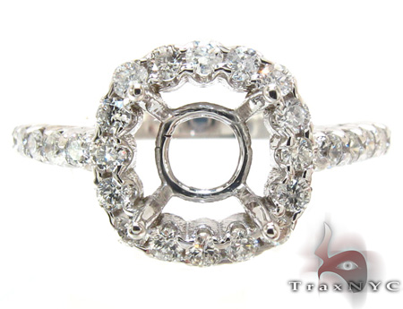 PR Semi Mount Ring 4 Engagement