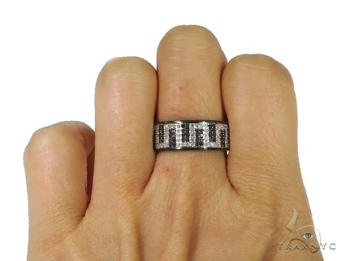 Maze Diamond Ring 45392 Stone