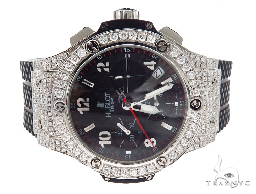 Pave Diamond Hublot Watch 42333 Hublot