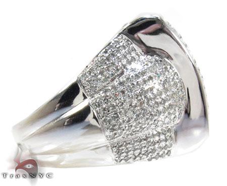 Pave Jumbo Diamond Ring Stone