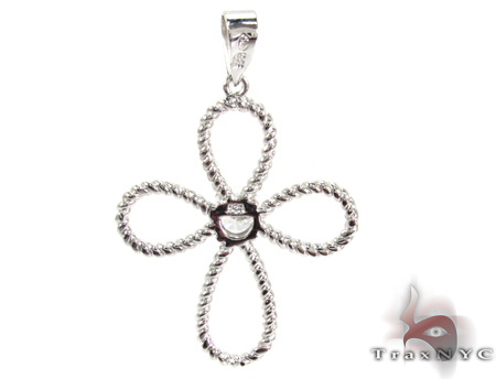 Petal Diamond Cross Crucifix 27110 Style