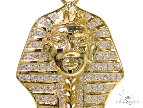 Pharaoh Sterling Silver Pendant 40319 Metal