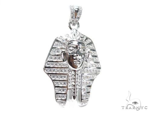 Pharaoh Sterling Silver Pendant 42862 Metal