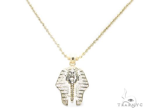 Pharaoh Sterling Silver Pendant 42863 Metal