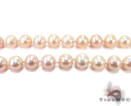 Pink Pearl Necklace 27179 Pearl