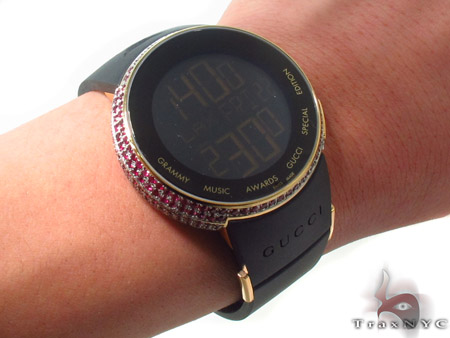 Pink Ruby Bezel Grammy Awards Special Edition Gucci Watch Gucci