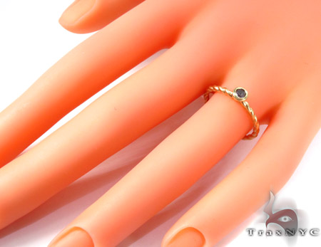 Dark Pink Sapphire Ring Anniversary/Fashion