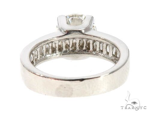 Platinum Diamond Engagement Rings Set 64005 Engagement