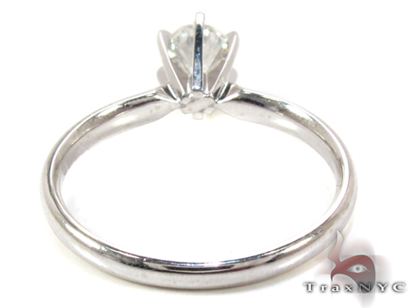 Platinum Solitaire Ring Engagement