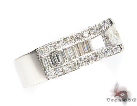 Princess Cut Diamond Wedding Ring Engagement