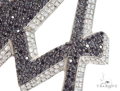 Prong 'A'  Diamond Initial Pendant 42357 Style
