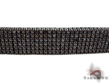 Prong Black Diamond Bracelet 31293 Diamond