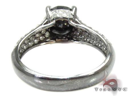 Prong Black Diamond Ring Engagement
