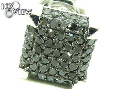 Prong Black Diamond Single Earring Style