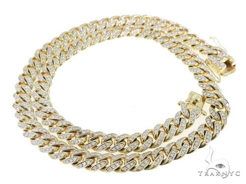 Prong Cuban/Curb Diamond Chain 56395 Diamond