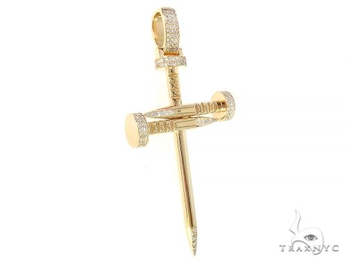 Prong Diamond Nail Cross 65517 Diamond
