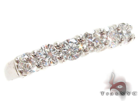 Prong Diamond Anniversary Band 31065 Wedding