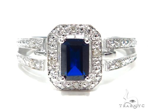Sapphire & Prong Diamond Anniversary/Fashion Ring 41833 Anniversary/Fashion