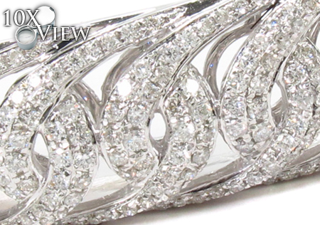 Prong Diamond Bangle Bracelet 32194 Bangle