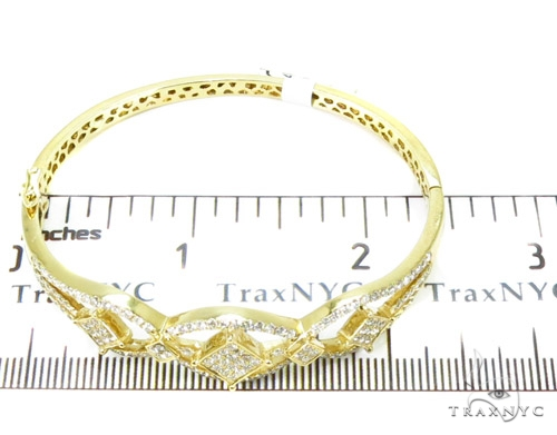 Prong Diamond Bangle Bracelet 37375 Bangle