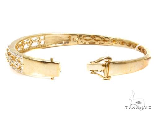 Prong Diamond Bangle Bracelet 37376 Bangle