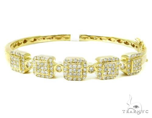 Prong Diamond Bangle Bracelet 37378 Bangle