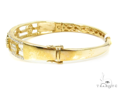 Prong Diamond Bangle Bracelet 37387 Bangle