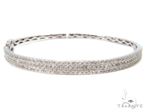 Prong Diamond Bangle Bracelet 37441 Bangle