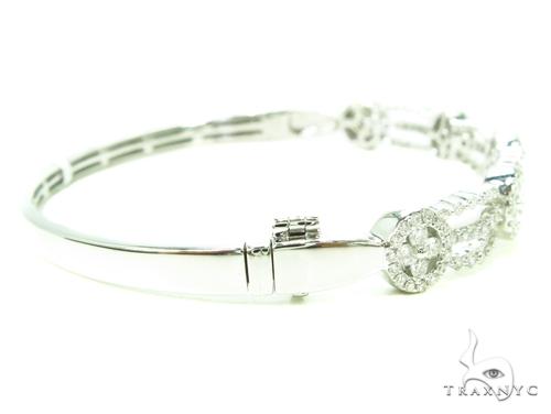 Prong Diamond Bangle Bracelet 38001 Bangle